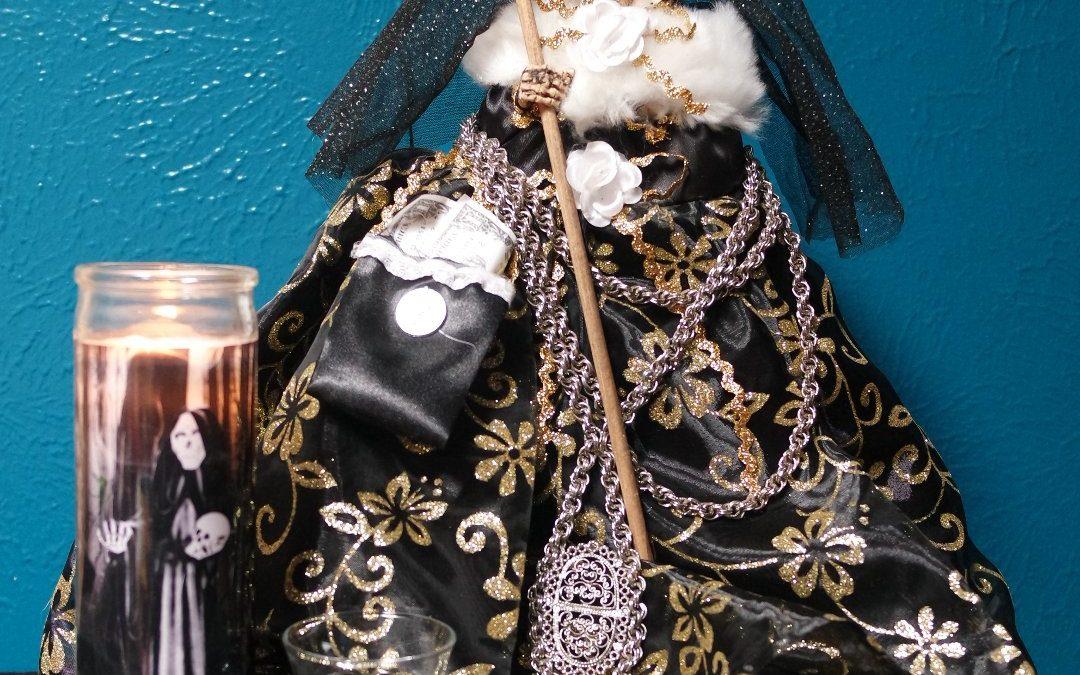 La Niña Negra, el aspecto negro de la Santa Muerte