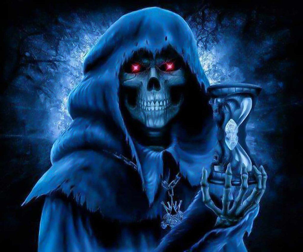 La Niña Azul El Aspecto Azul De La Santa Muerte Tracey Rollin