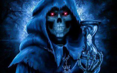 La Niña Azul, el aspecto azul de la Santa Muerte