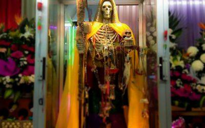 La Niña Dorada, el aspecto dorada de la Santa Muerte